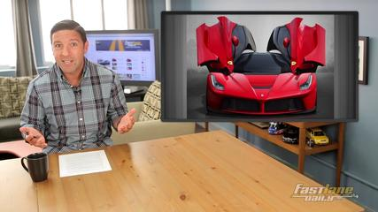 News video: Ferrari LaFerrari Spider, New C63 AMG, Tesla Model X Production - Fast Lane Daily