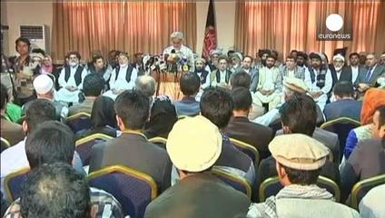 News video: Protesters claim fraud in Afghan poll